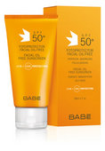 Babe Fotoprotector Facial 50+ Oil-Free 50ml