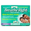 Breathe Right Tiras Mentoladas Grandes 8uds
