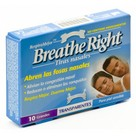Breathe Right Tiras Transparentes Grandes 10uds