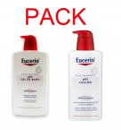 Eucerin Gel de Ba�o 400ml + Eucerin Locion 400ml Pack
