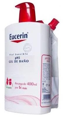 Eucerin gel ba o 1000 ml recarga gel de ba o 400 ml gel eucerin gel ba o 1000 ml recarga - Eucerin gel de bano ...