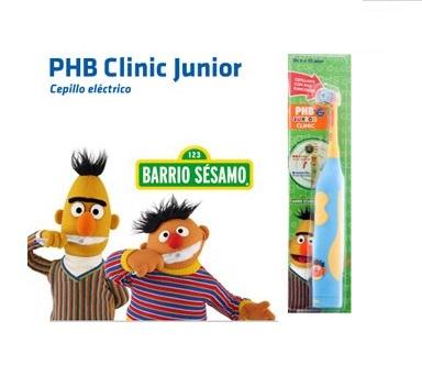 PHB CEPILLO ELECTRICO CLINIC JUNIOR AZUL - Cepillo dental infantil ... 4576101a5506