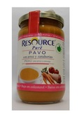 Resource Pure Pavo con Arroz y Zanahorias 300gr