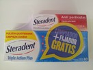Steradent Triple Accion Plus 60 Tabletas+Fijador