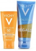 Vichy Ideal Soleil BB Cream SPF50+ con Color 50ml + REGALO AfterSun 100ml