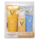 Vichy Ideal Soleil PACK Leche hidratante SPF50+ 300ml + REGALO Emulsi�n Facial SPF50+ y AfterSun